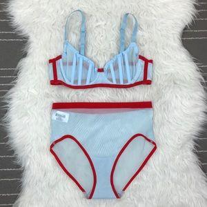 NEW Wolford Elsa lingerie set